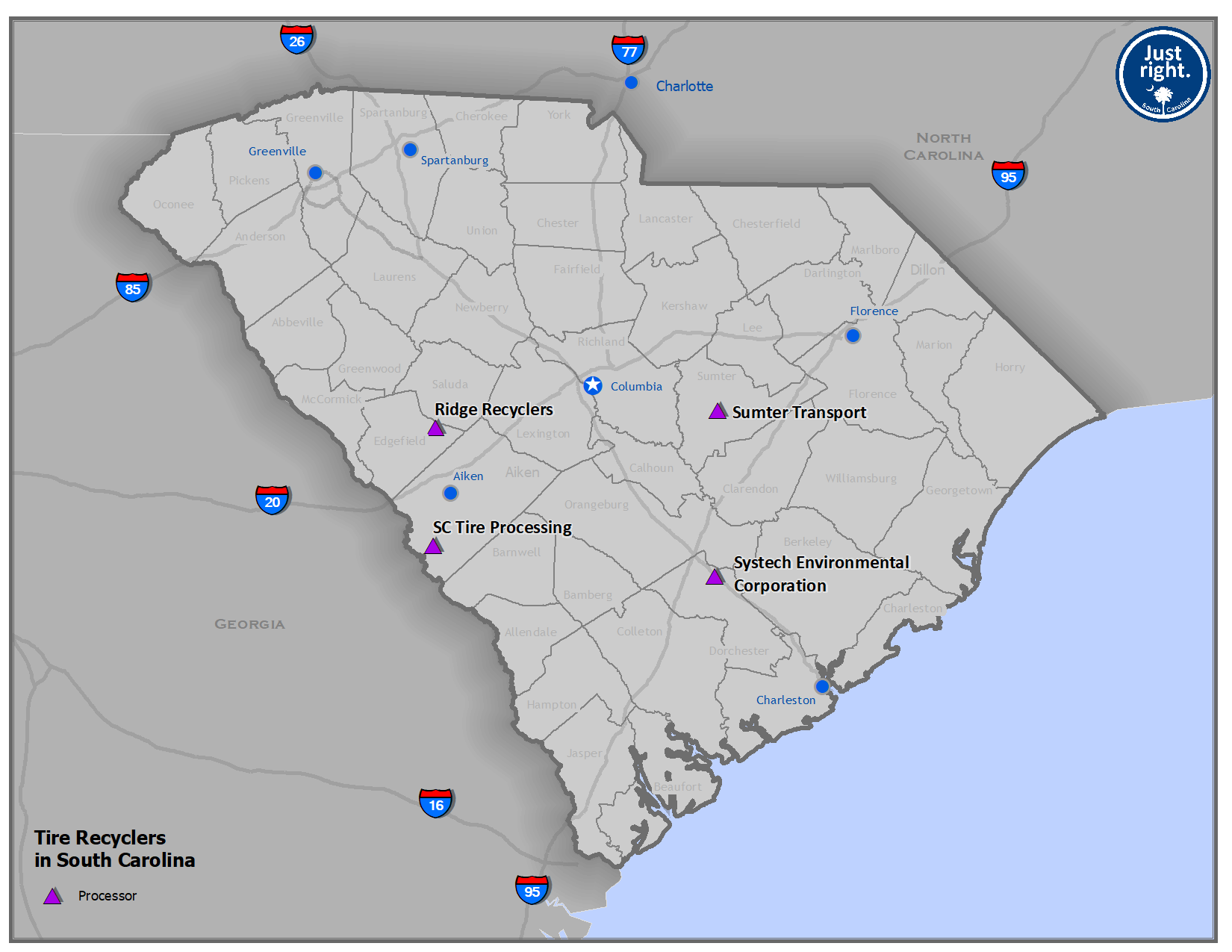 Rubber / Tires – Recycling in SC